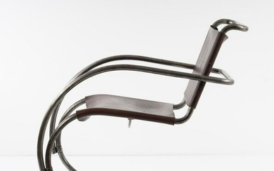 Ludwig Mies van der Rohe, 'MR 11-12' lounge chair, 1927