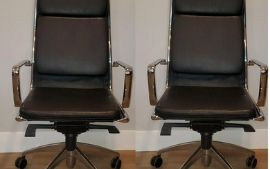 Maner of Charles and Ray Aims Soft pad Chairs