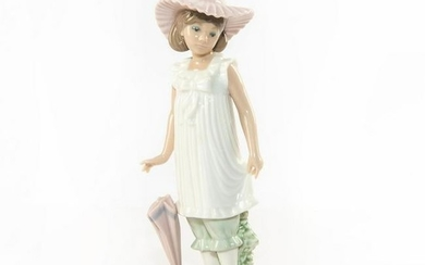 NAO BY LLADRO FIGURINE APRIL SHOWERS 1126