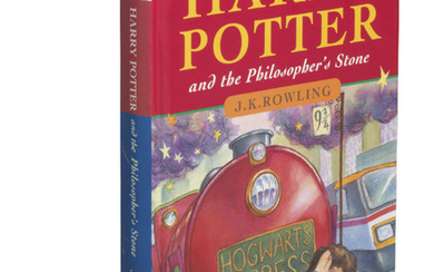 ROWLING, J.K. (b. 1965). Harry Potter and the Philosopher's Stone. London: Bloomsbury, 1997.,