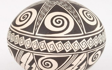 Rainy Naha (Hopi, b. 1949) Polychrome Pottery Jar, From