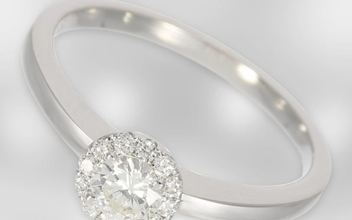 Ring: as good as new brilliant ring made...