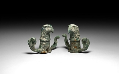 Roman Eagle Chariot Fitting Pair