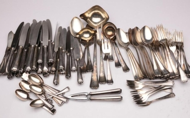 Rostfrei HR90 R Marked Silver Plated Cutlery Service