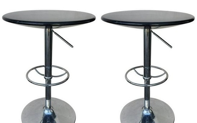 Set of Adjustable Contemporary Modern Cocktail Tables