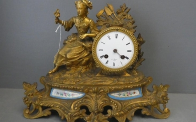 Sevres Clock with movement by H.Marg, Paris (pendulum one ha...