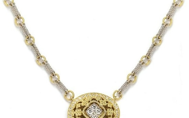 Stambolian Passion Two-Tone White Yellow Gold and