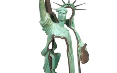 Statue of Liberty' Bronze Sculpture by Arman