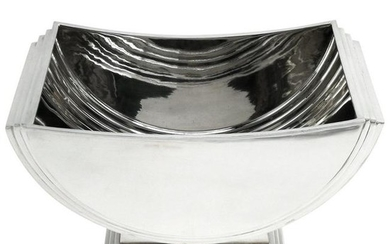 Sterling Silver Bowl / Champagne Cooler Art Deco Style