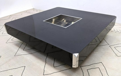 WILLY RIZZO for PIERRE CARDIN Coffee Table. Oversized C