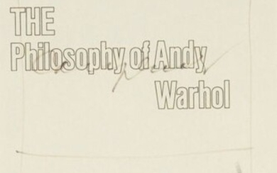 176. ANDY WARHOL (1928-1987) CAMPBELL'S…