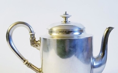19C Russian Silver Tea Pot