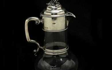 19th Century English John Wilmin Figg Sterling Silver