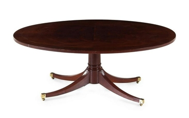 A George III Style Mahogany Low Table