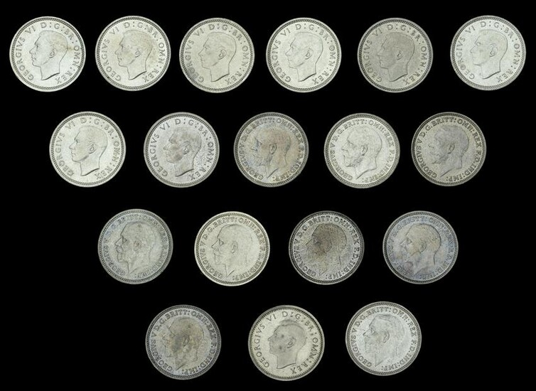 A Specialist Group of Milled Silver Coins