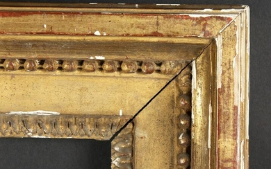 "An 18th Century Moulded and Composition Frame. 29.5"" x"