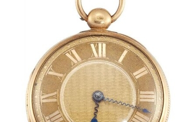 An early 19th century 18ct gold open...