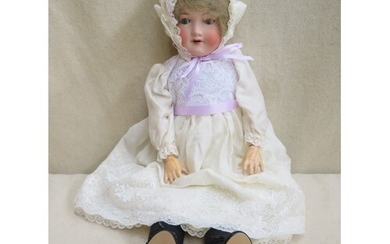Armand Marseille early 20th century bisque headed doll with ...