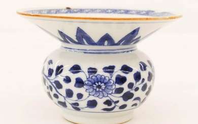 Chinese 18th Cent. Nanking Cargo Porcelain Ink Pot