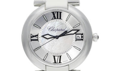 Chopard | Imperiale, A New Old Stock Stainless Steel Wristwatch with Mother-of-pearl Dial and Date, Circa 2019