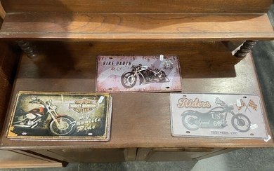 Collection of Tin Holden Signs (3)