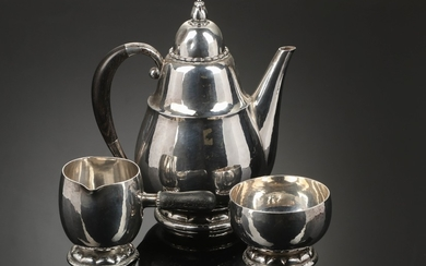 Georg Jensen. Coffee service in sterling silver, no 34A (3)