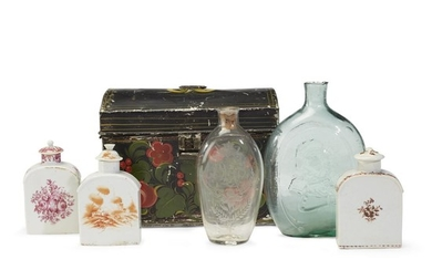 Group of six household wares 18th/19th century Comprising three...