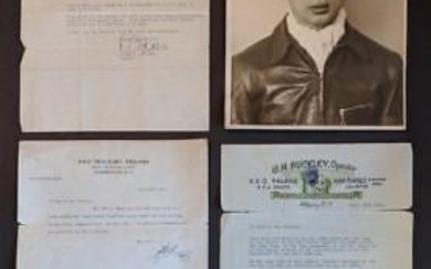 LOT of RKO & PARAMOUNT THEATRE RECOMMENDATION LETTERS