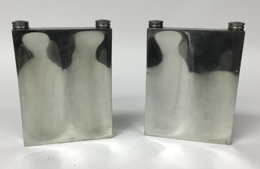 Pair of Abercrombie & Fitch English Double Flasks