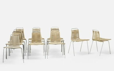 Poul Kjaerholm, PK 1 chairs, set of twelve
