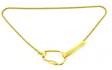 18k Yellow Gold Italian Chain Necklace