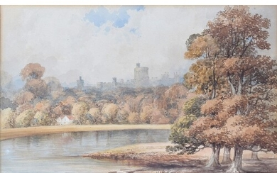 19th century British school, 'Windsor Castle', watercolour, ...