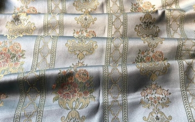 3 meters High-quality Damask Jacquard fabric - Textiles - 1975-2000