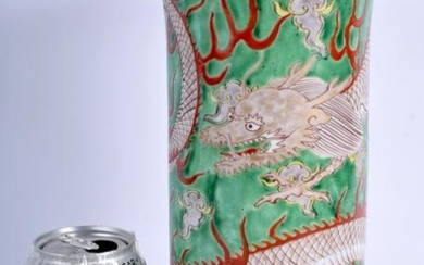 A RARE 19TH CENTURY JAPANESE MEIJI PERIOD VASE painted