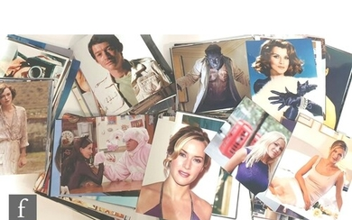 A large collection of 8x10 film and portrait stills includin...