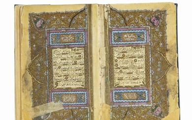 AN OTTOMAN QURAN COPIED BY IBRAHIM AL-ZUHDI STUDENT OF