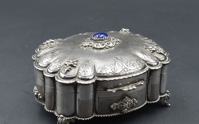 Box - .800 silver - Italy - First half 20th century