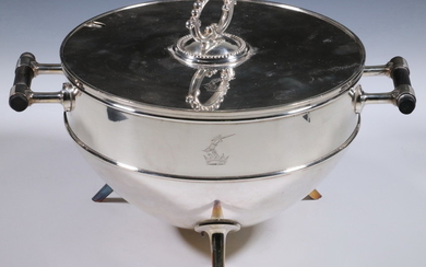 CHRISTOPHER DRESSER DESIGNED SILVER-PLATED TUREEN