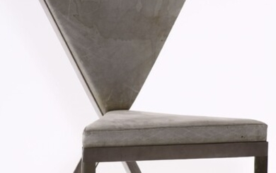 Chair sculpture, 1980s, design and execution of...