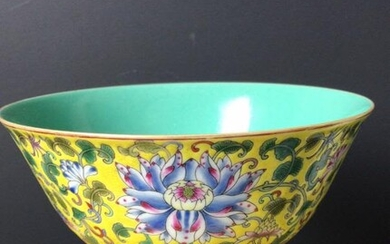 Chinese Famille Rose Porcelain Bowl,Mark