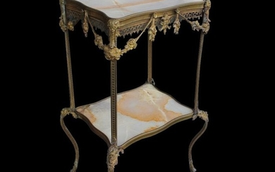 Coffee table - Napoleon III - Ormolu - Second half 19th century
