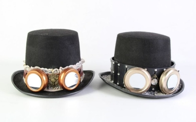 Decorated Top Hats