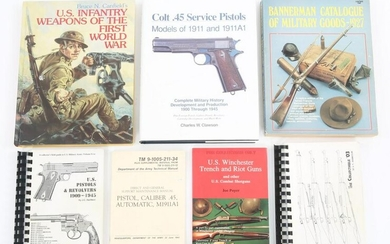 FIREARM COLLECTOR'S REFERENCE BOOKS & CATALOGS LOT