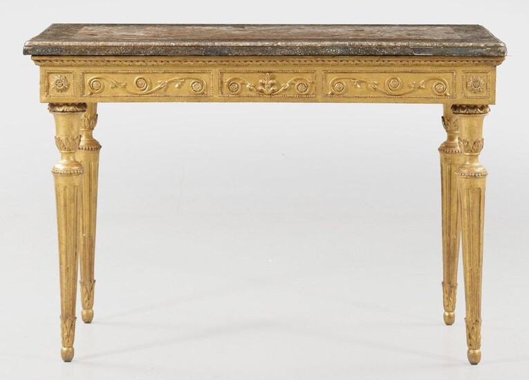 Large Louis XVI console table