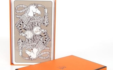 Hermes Jumbo Playing Cards Set Les 4 Mondes New