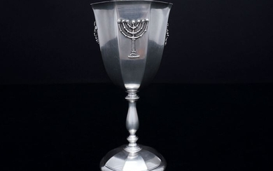 Kiddush Wine Glass (1) - .800 silver - ZaramellaArgenti srl. - Italy - First half 20th century