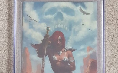 Killing Red Sonja #1 Comic Mint / Aaron Bartling Virgin Variant - Signed and Remarked CGC 9.8 - First edition