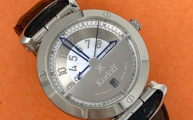 Korloff - Automatic Watch Highway Voyager Mother of Pearl Swiss Made - VA1/169- Unisex - Brand New
