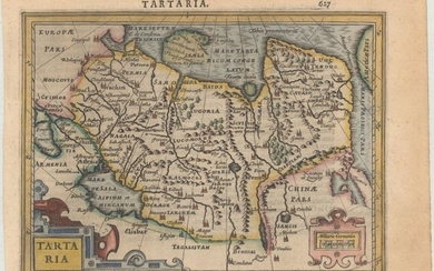 """[Lot of 3] Tartaria [and] Tartariae sive Magni Chami Regni Tipus [and] A Map of Independent Tartary Containing the Territories of Usbeck, Gasgar, Tibet, Lassa &c."""