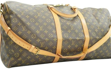 Louis Vuitton Monogram Keepall Bandouliere 60 Duffle